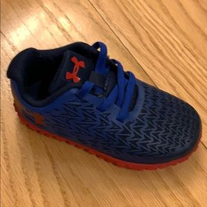 Under Armour baby boy sneakers size 7K US